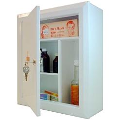 Шкаф аптечка АМ-1 Аптечка-3 (400х360х140) с замком