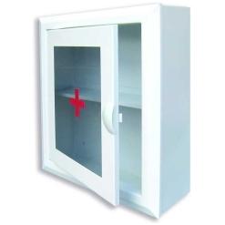 Шкаф аптечка 2 (1 полка) (330х280х140) стекло