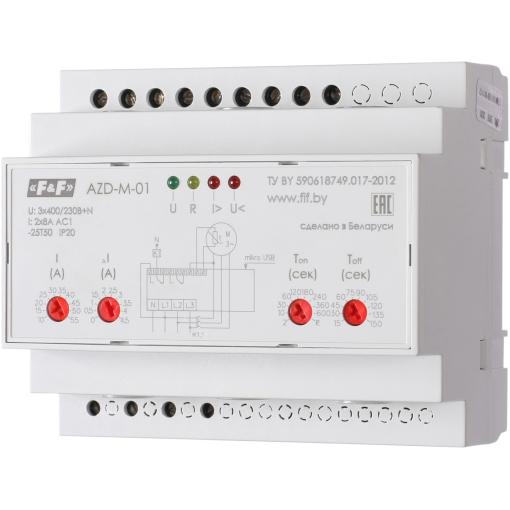 Реле защиты электродвигателей AZD-M