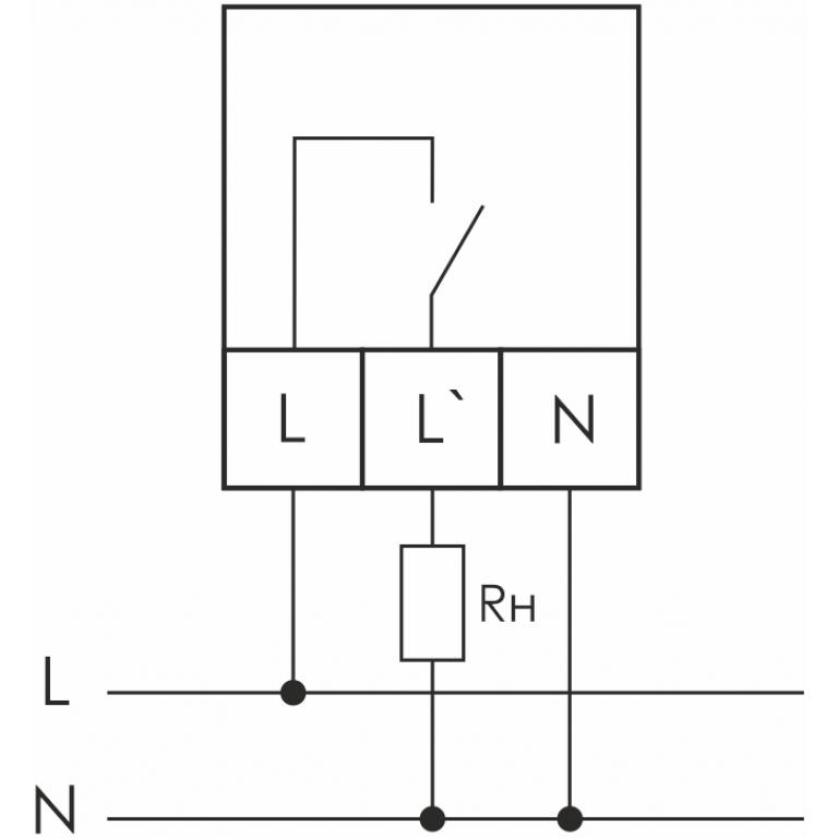 Схема подключения CP-721