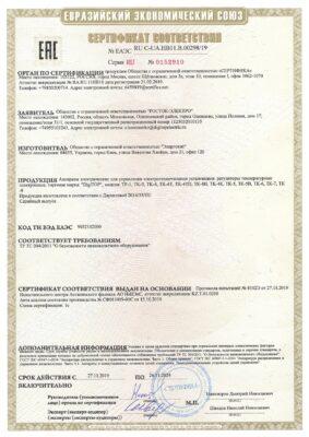 НВ11.В.00298.19 Терморегуляторы 26.11.2024
