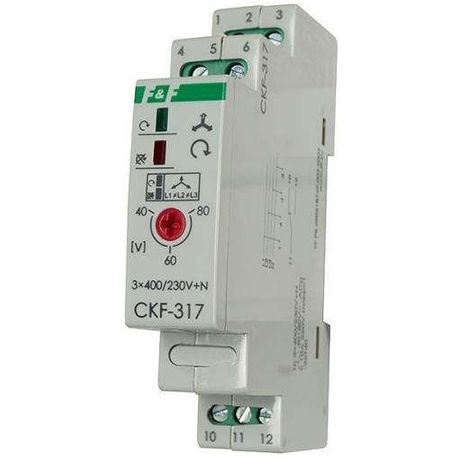 Реле контроля фаз CKF-317