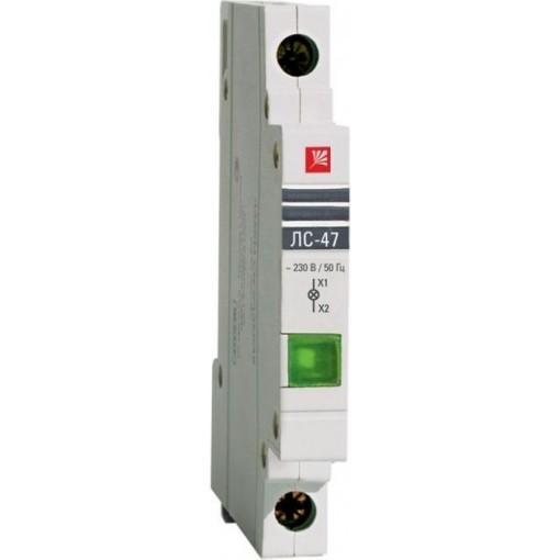 Лампа сигнальная ЛС-47 (зеленая) EKF
