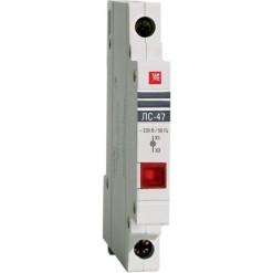 Лампа сигнальная ЛС-47 (красная) EKF