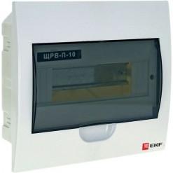 Щит распределительный встраиваемый ЩРВ-П-10 IP41 EKF PROxima