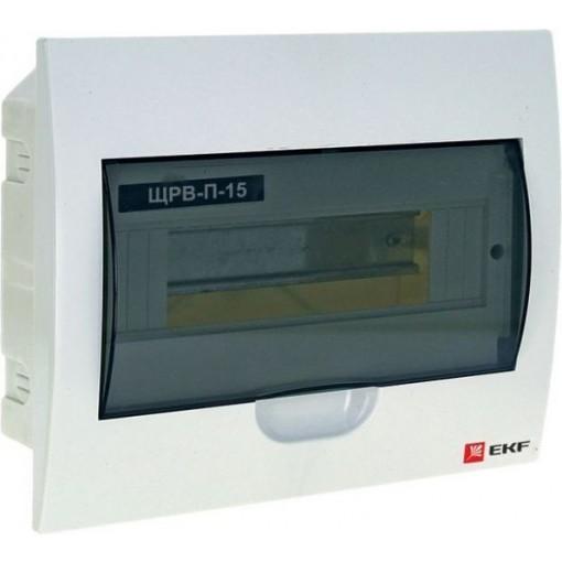 Щит распределительный встраиваемый ЩРВ-П-15 IP41 EKF PROxima