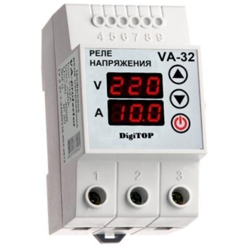 Реле напряжения с контролем тока VA-32