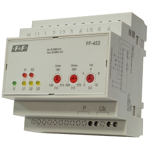Переключатель фаз автоматический PF-452