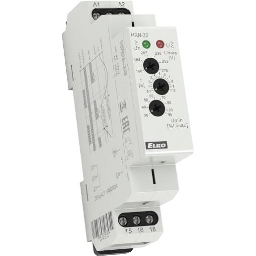 Реле контроля напряжения HRN-33