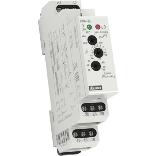 Реле контроля напряжения HRN-35