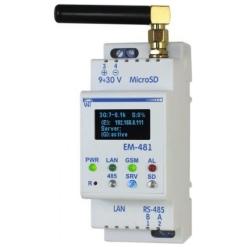 Логический контроллер с SMS оповещением ЕМ-481