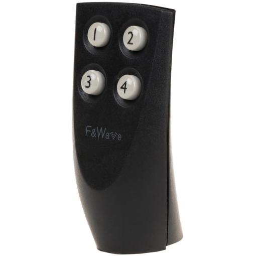 Пульт ДУ 4-х клавишный черный FW-RC4