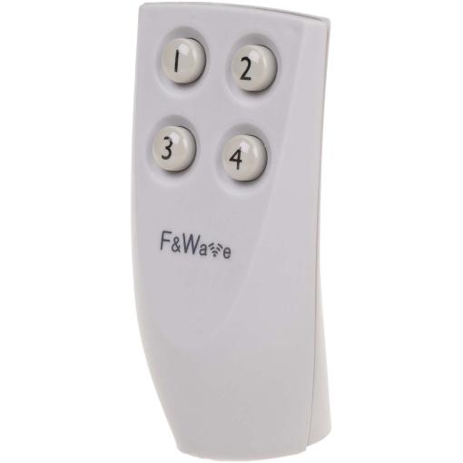 Пульт ДУ 4-х клавишный серый FW-RC4G