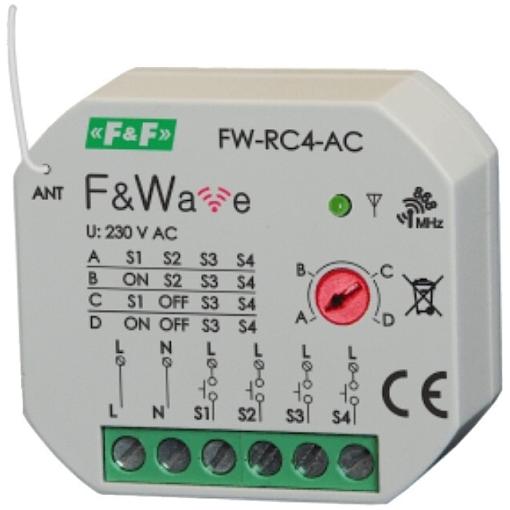 Передатчик 4-х клавишный дистанционного управления FW-RC4AC