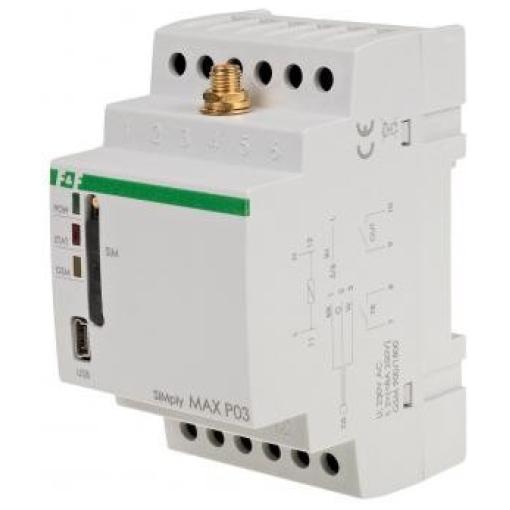 Реле дистанционного управления по GSM SIMply MAX P03