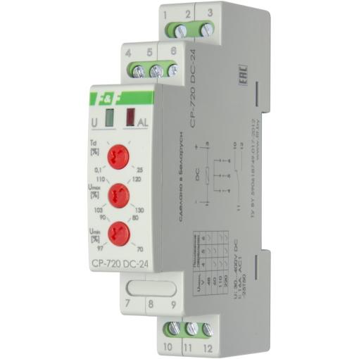 Реле контроля напряжения однофазное CP-720