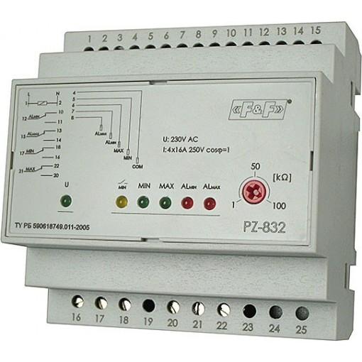 Реле контроля уровня PZ-832Реле контроля уровня PZ-832