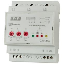 Реле контроля наличия и чередования фаз CKF-346