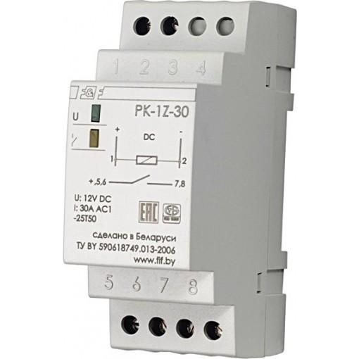 Реле электромагнитное (промежуточное) PK-1Z-30