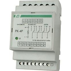 Реле электромагнитное (промежуточное) PK-4P